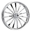 HARLEY DAVIDSON MOTORCYCLE  CHROME HIGH ROLLER WHEEL BY JADE